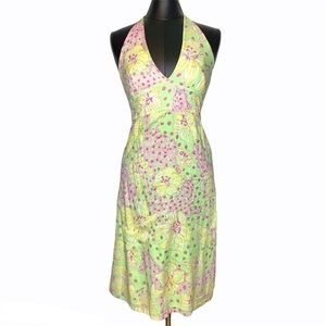 Lilly Pulitzer Fillies For Lillies Halter Dress